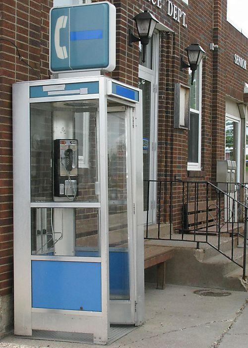 Pierz phone booth