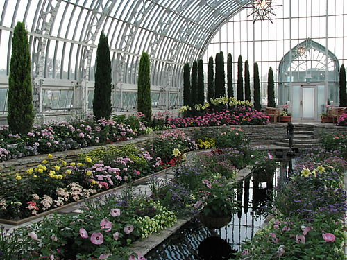 Marjorie McNeely Conservatory at Como park